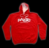 PAISTE CONTRAST HOODY red/white
